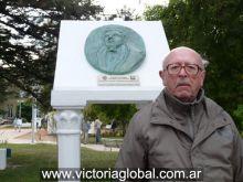 Don Justo Ezpeleta, bisnieto del fundador de la ciudad (año 2010)