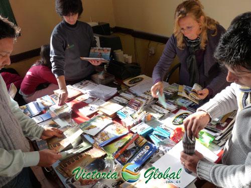 Preparativos de la promoción turística en Rosario