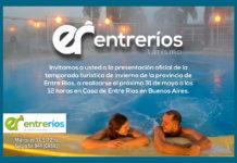Entre Ríos presentará el próximo miércoles 31 en la ciudad de Buenos Aires su oferta de productos y servicios turísticos para la próxima temporada de invierno.