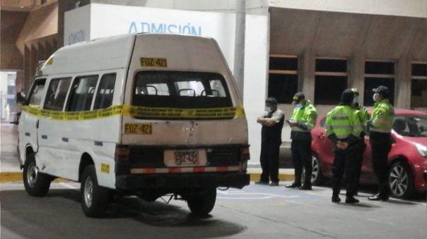 Un hombre murió tras ser baleado por delincuentes durante asalto a combi en el Cercado de Lima