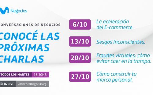 Movistar Negocios presenta un nuevo ciclo de charlas para emprendedores